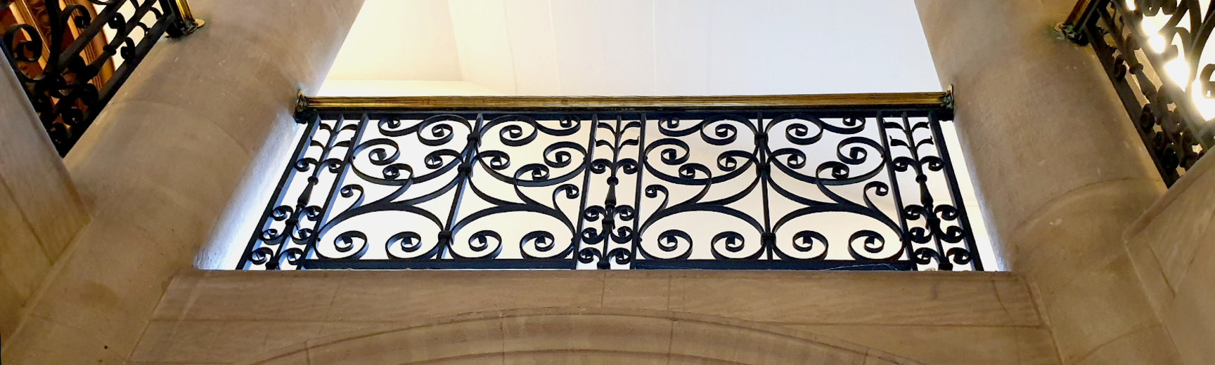 RSL stairwell and railing