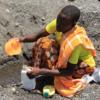 Digging for drinking water (Marisol Grandon/Department for International Development)